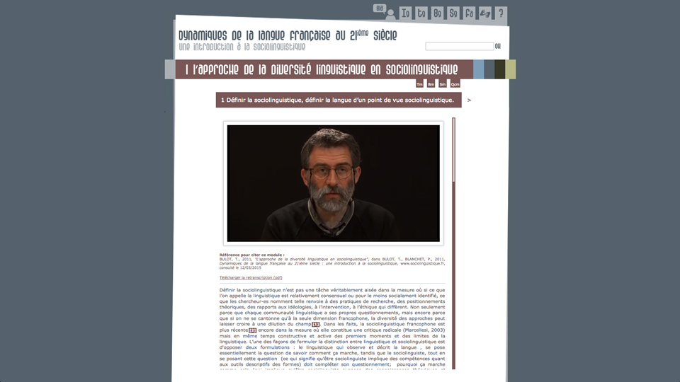 Site Sociolinguistique.fr image 0