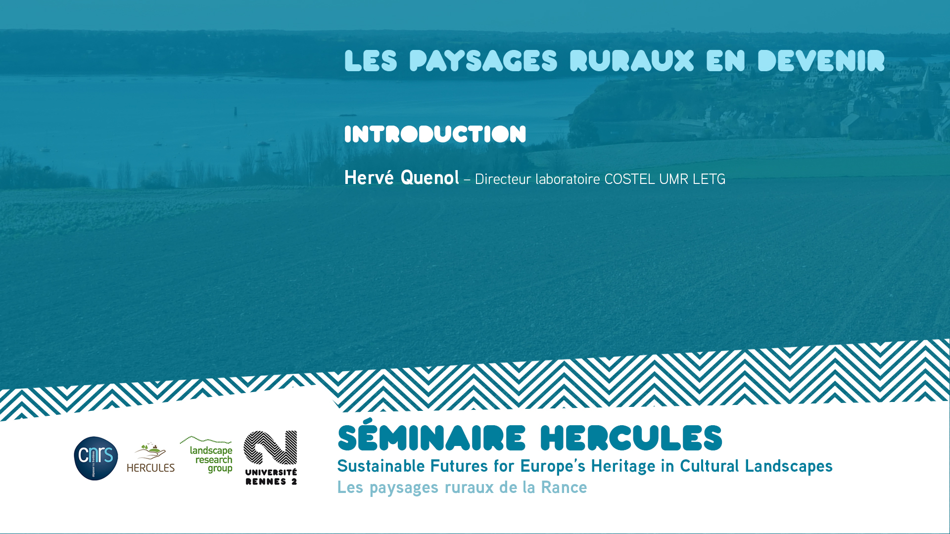 Les paysages ruraux en devenir – Introduction - Sustainable Futures for Europe's Heritage in Cultural Landscapes |