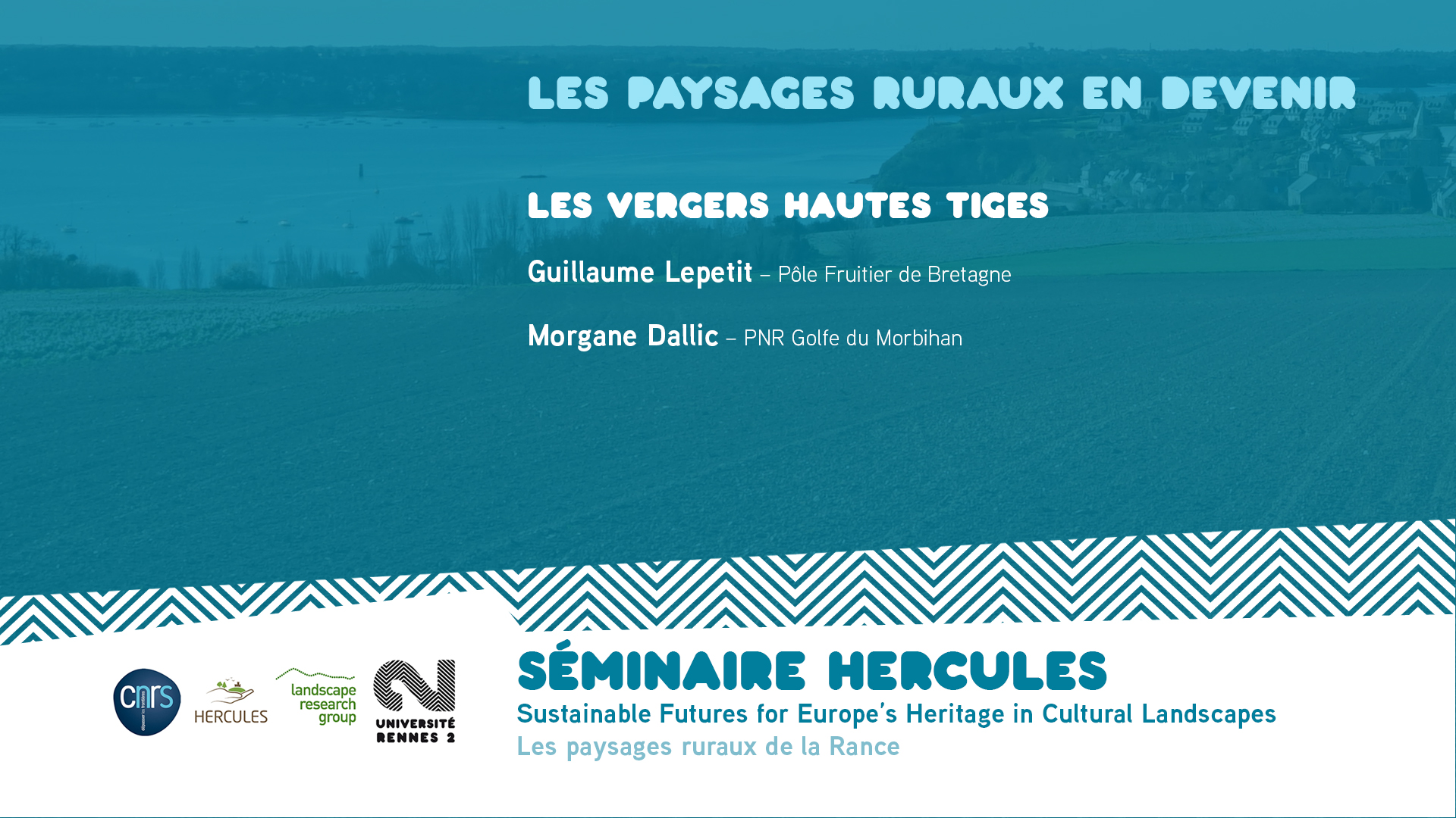 Les paysages ruraux en devenir – Les vergers hautes tiges - Sustainable Futures for Europe's Heritage in Cultural Landscapes |
