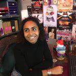 Portrait d'Anabelle Kihoulou, Présidente de K-Barré