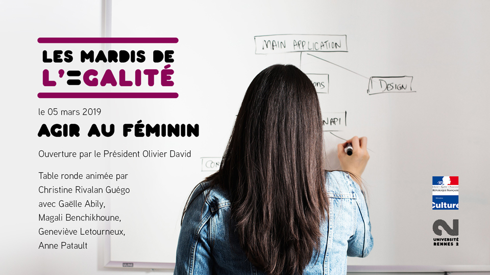 mardi de l'égalité - agir au féminin