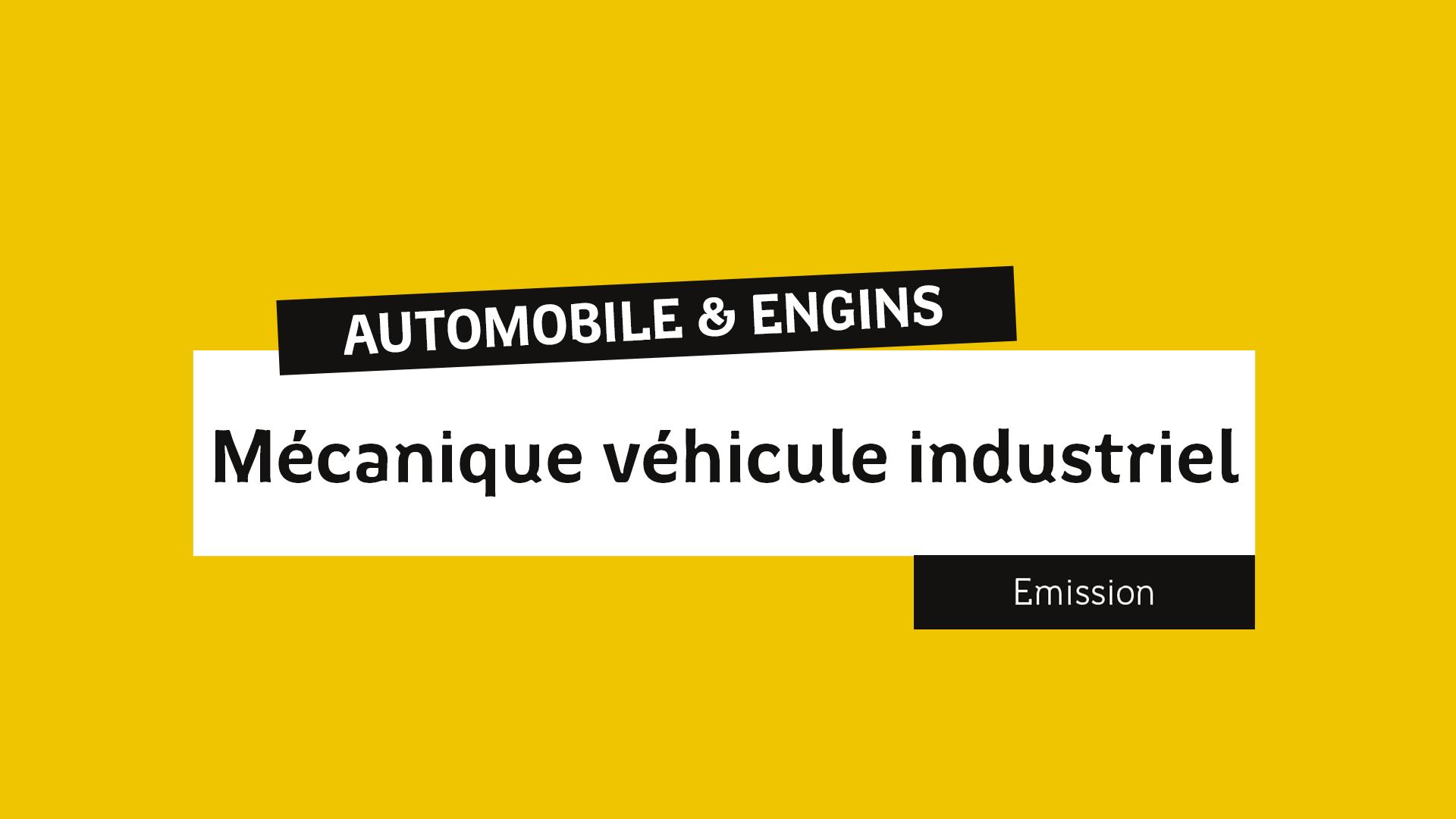 Mécanique véhicule industriel